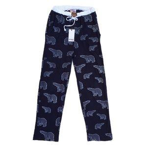 Crazy Cottons Bear Pajama Bottoms Pants Size Small